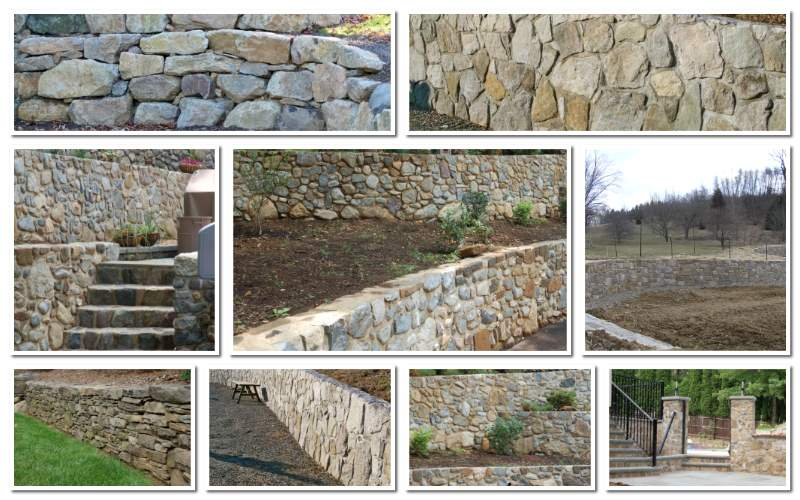 Retaining Wall Masonry Contractors Morris County NJ